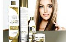 lissage des cheveux kératine-protéine brésilienne
