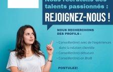 Profil Francophone débutant en service client