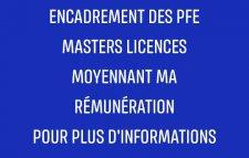 PFE cours de soutien révision coaching scolaire etc..