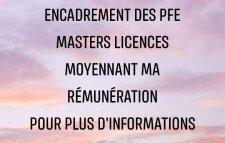 Préparation PFE Masters Etudes Rapports Notes Communication