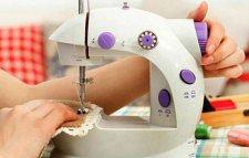 آلة الخياطة البسيطة ذات السرعة المزدوجة  Machines à coudre à main Double vitesse  Sewing machines Handheld Dual Speed