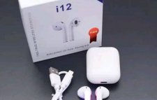 Inpods i12 TWS Casque Stéréo Sans Fil HD Smart 5.0