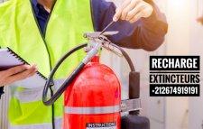 Maroc recharge extincteurs Rabat protection incendie