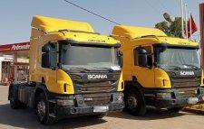2 Scania camions P360 ventouse Modéle 2016