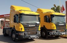 2 Scania camions P 360 ventouse