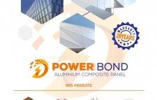 alucobond de qualité Power Bond offre spécial pour les poseurs