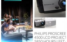 Projecteur philips bonne occasion comme neuf
