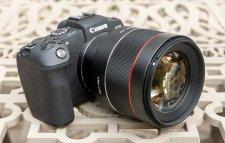 Canon eos r avec objectif hybride samyang AF 85mm f/1,4