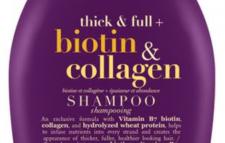 OGX Shampooing biotine et collagène + epaisseur et abondance. Produit de CANADA