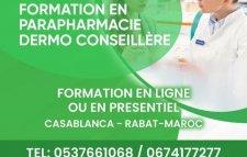 Formation parapharmacie dermo conseillère