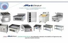 Fabrication, vente de matériels professionnel en inox