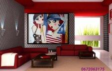 Tableuax peinture acrylique sur toile