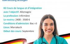 En cherche des infirmier pour des Klinik allemand
