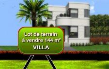 LOT DE TERRAIN à Saidia pour Villa